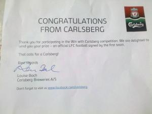 Win with Carlsberg