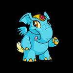 Blue elephante  -  Neopets